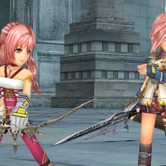 Serah and Lightning in Act 1, Chapter 1.