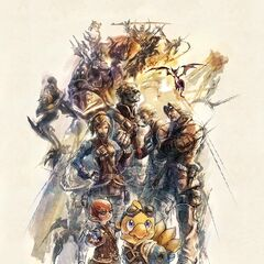 Alpha na arte de <i>Rise of a New Sun</i>.