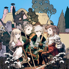 The cover art featuring Yunita with Aire, Jusqua, and Brandt.