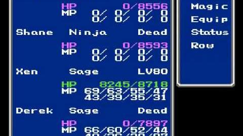 Final Fantasy III - Magic Duplication Glitch