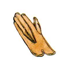 Official art of Leather Gloves from <i><a href=