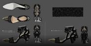 Luna Shoes Art