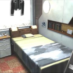 Squall's cadet dorm room.