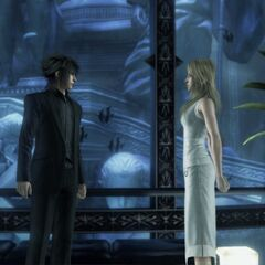 Noctis and Stella for <i>Final Fantasy Versus XIII</i>.