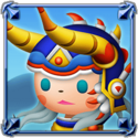 DFFNT Player Icon Warrior of Light TFF 001