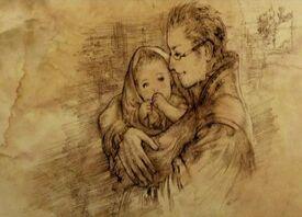 Dr. Cidolfus and Balthier (artwork)