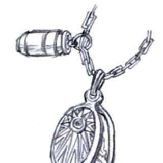 Dyne's pendant.