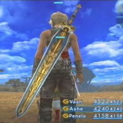 Excalibur em <i>Final Fantasy XII</i>.