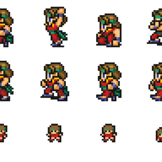 Sprites of the Monk.