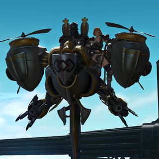 Fordola em uma aeronave Magitek imperial.