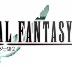 Promotional logo of <i>Final Fantasy XIII-2</i> used in one of September 2011 commercials.