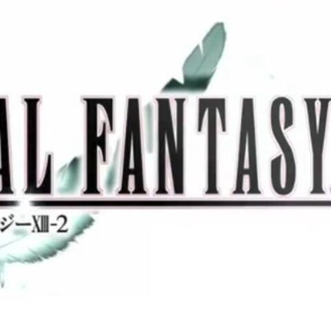 Promotional logo of <i>Final Fantasy XIII-2</i> used in a September 2011 commercial.