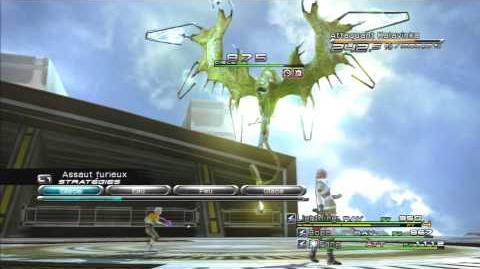 Final Fantasy XIII Combat contre Attaquant Kalavinka 2