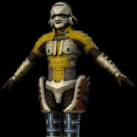 PSICOM Soldier model.
