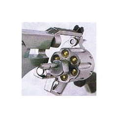 The cylinder of a Revolver model.