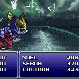 Caius as the Triple Bahamut in <i>Lightning Returns: Final Fantasy XIII</i> Retro-spective trailer.