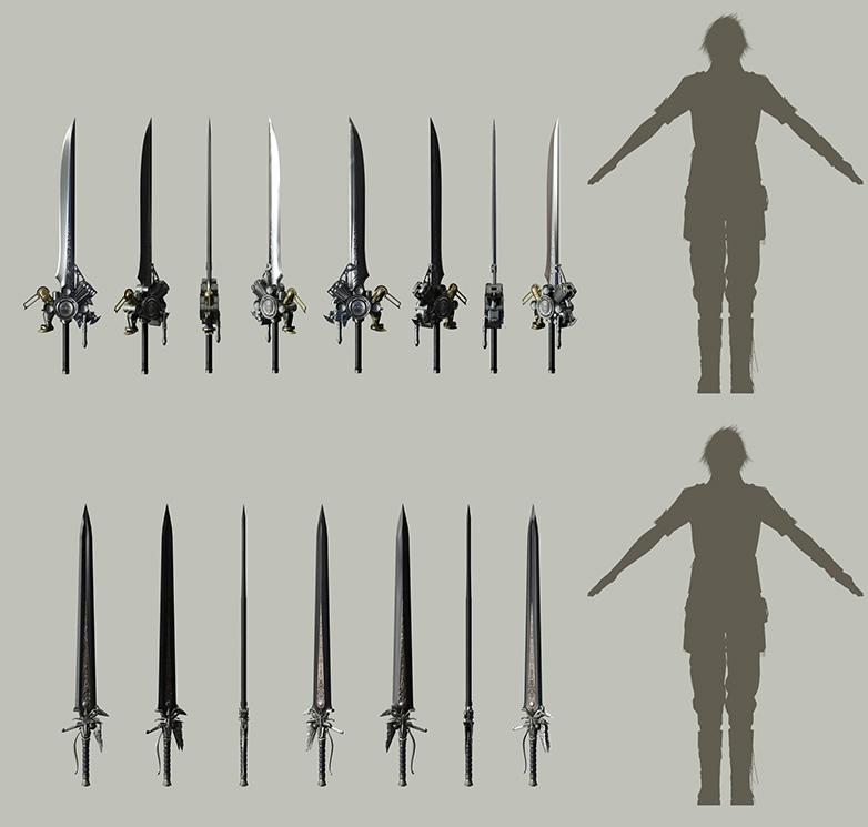 List Of Final Fantasy Xv Weapons Final Fantasy Wiki Fandom