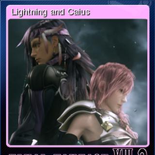 Lightning e Caius.