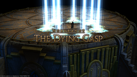 FFXIV The Dying Gasp