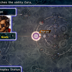 Auron's Sphere Grid (PS2).