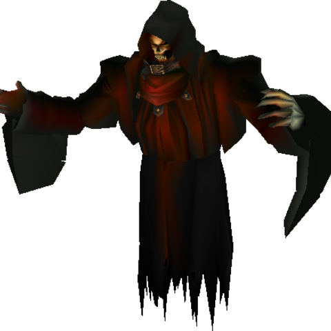 Model for Hades in <i>Final Fantasy VII</i>.
