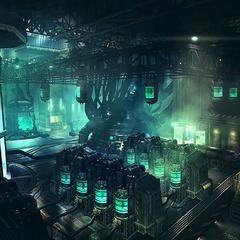 Hojo's Laboratory concept art