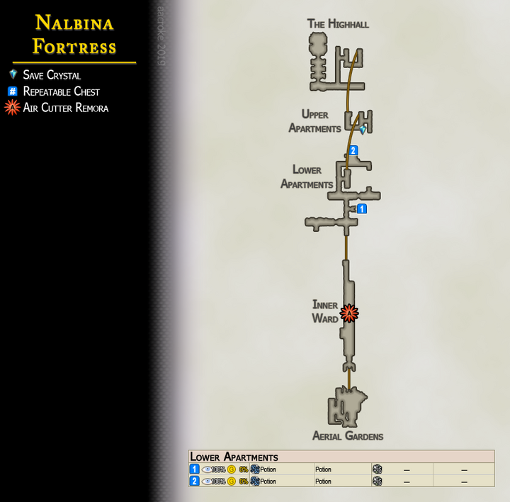 Map 23 Nalbina Fortress