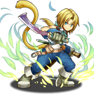Zidane in <i>Puzzle & Dragons</i>.