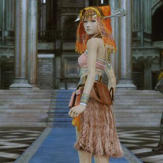 Lady Vanille está muito bem guardada pela Ordem.