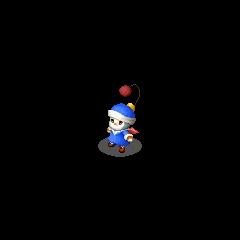 Moogle Tinker sprite in <i>Final Fantasy Tactics S</i>.