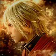 Imagem promocional de Ace para <i>Final Fantasy Type-0 HD</i>.