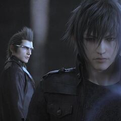 Noctis and Ignis.