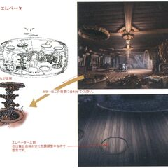 Concept artwork of the stage.