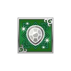 White Turtle Shell from <i><a href=