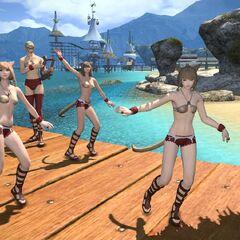 Танцовщицы в <i>Final Fantasy XIV</i>