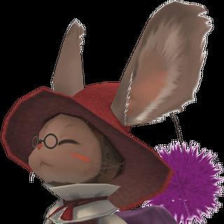 Character model in <i>Final Fantasy XII</i>.
