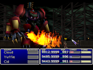 FFVII Knee Fire