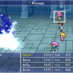 Blizzaga Ability Final Fantasy Wiki Fandom Powered By Wikia