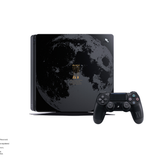 Moon decal for PlayStation 4.