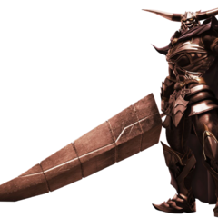 Garland's FMV Render from <i>Dissidia Final Fantasy</i>.