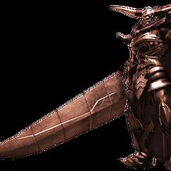 FMV Render de Garland de <i>Dissidia Final Fantasy</i>.