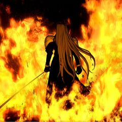 Sephiroth during the Nibelheim Incident.