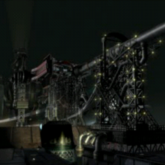 The Sister Ray in <i>Final Fantasy VII</i> before being shot in Midgar.