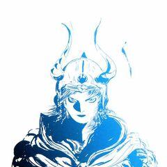 Artwork of Warrior of Light for the PSP Anniversary.