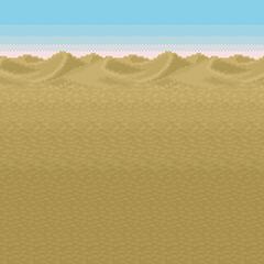 Fundo de batalha (Deserto) (SNES).