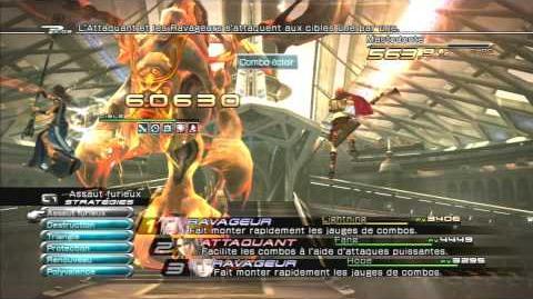 Final Fantasy XIII Combat contre Mastodonte 2