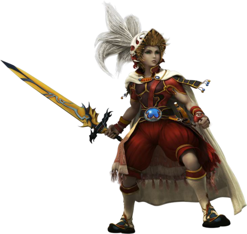 File:Onion Knight Dissidia CG render.png