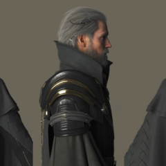Renders of King Regis.