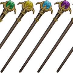 Shantotto's Staves.