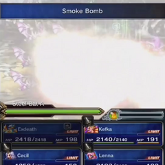 Smoke Bomb in-battle in <i><a href=